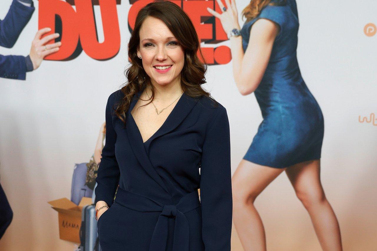 """Jury-Mitglied und Leinwandstar in spe: TV-Comedienne Carolin Kebekus (36) bei der Premiere ihres Films """"Schatz, nimm Du sie!"""""""
