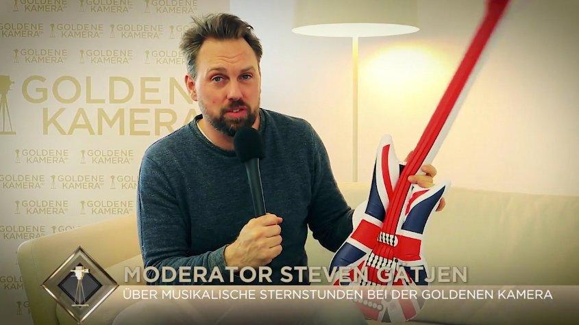 Steven Gätjen über musikalische Sternstunden bei der GOLDENEN KAMERA