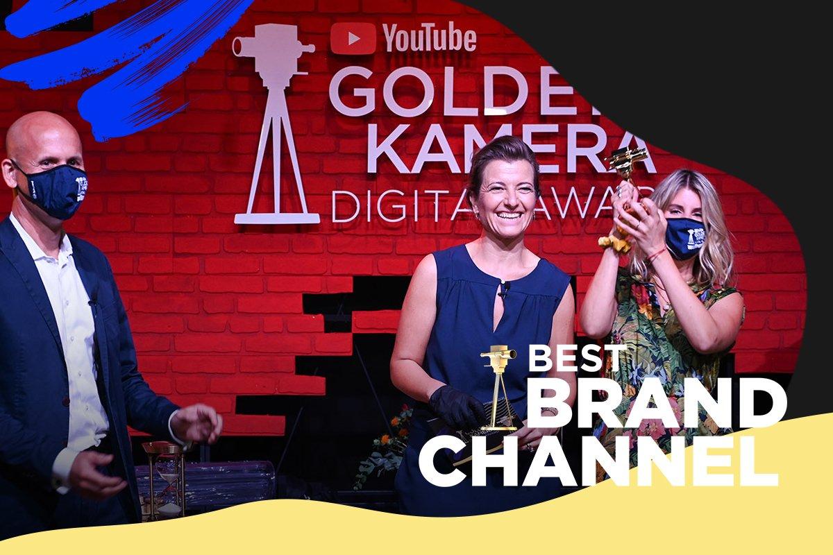 """Bei der Userwahl zum """"Best Brand Channel"""" beim #YTGKDA2020 erhielt der YouTube-Kanal von EDEKA """"yumtamtam"""" die meisten Stimmen."""