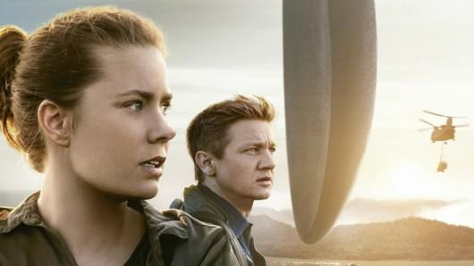 Posterartwork der neuen Sci-Fi-Sensation Arrival mit Amy Adams und Jeremy Renner  © 2016 Sony Pictures Releasing GmbH