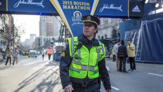 Kurz vor dem Bombenattentat auf den Boston-Marathon: Tommy Saunders (Mark Wahlberg)