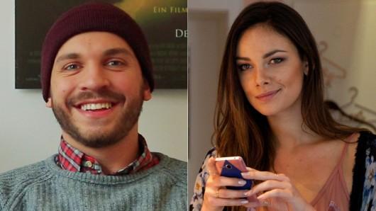 Edin Hasanovic (24) und Janina Uhse (27)