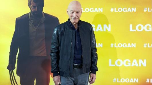 Weltreisender in Sachen X-Men: Patrick Stewart alias Professor Charles Xavier auf der Logan-Premiere in Madrid