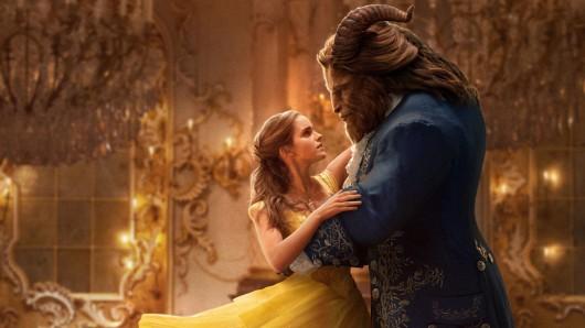 Die Schöne (Emma Watson) und das Biest (Dan Stevens) © Walt Disney Pictures
