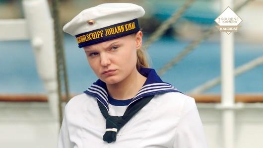 Im #GOKA-Kandidaten Tod einer Kadettin ist Maria Dragus als Kadettin Lilly Borchert zu sehen.