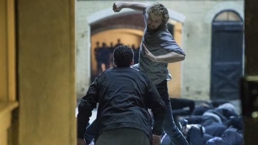Marvel's Iron Fist in Action: Finn Jones als Danny Rand © Netflix
