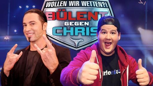 Wollen wir wetten?! Bülent gegen Chris am 17 und 24. Juni 2017 bei RTL. Foto: RTL / Max Kohr / Willy Web