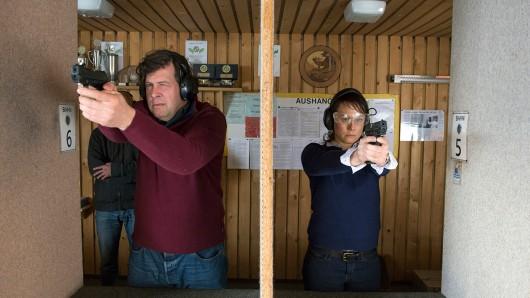 Das Ermitlerduo im Einsatz Friedemann Berg (Hans-Jochen Wagner) und Franziska Tobler (Eva Löbau).