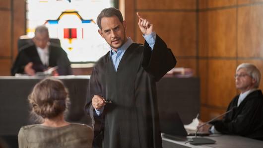 Wieder im Gerichtssaal: Moritz Bleibtreu als Strafverteidiger Friedrich Kronberg.