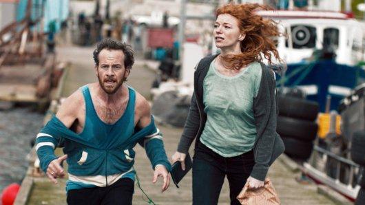 Anja (Marleen Lohse) und Frank (Fabian Busch) suchen verzweifelt ihre entführten Kinder.