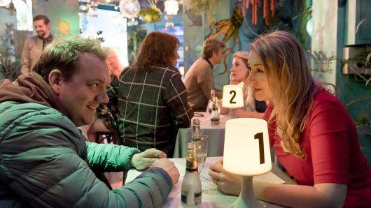 Bernd (Charly Hübner) versucht, mit seinem Charme zu überzeugen. Foto: WDR/Georges Pauly
