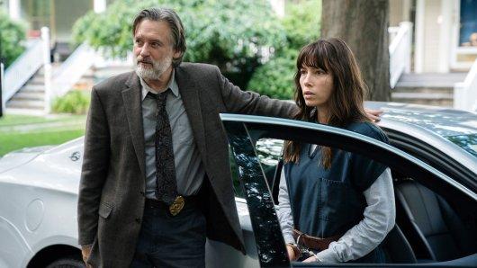 Bill Pullman und Jessica Biel in Staffel 1 der Netflix-Serie The Sinner