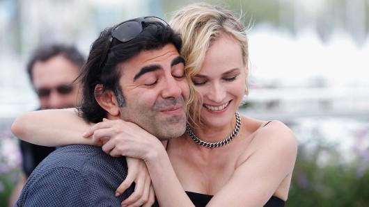 Seit ihrer ersten Cannes-Begegnung ein Herz und eine Seele: Regisseur Fatih Akin und Hollywood-Star Diane Kruger. (Foto: © Pascal Le Segretain/Getty Images)