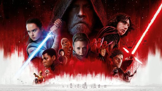 Das Sternenkrieger-Ensemble aus Star Wars: Die letzten Jedi