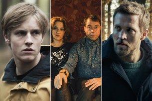 """Binge Watching ist 2018 garantiert. wir freuen uns auf die zweite Staffel von """"Dark"""" mit Louis Hofmann, """"Arthurs Gesetz"""" mit Martina Gedeck und Jan Josef Liefers und auf """"Der Grenzgänger"""" mit Tobias Santelmann."""