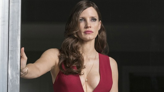 Molly's Game-Star Jessica Chastain in voller Molly Bloom-Aufmachung