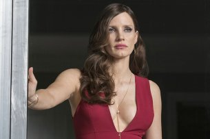 """""""Molly's Game""""-Star Jessica Chastain in voller """"Molly Bloom""""-Aufmachung"""