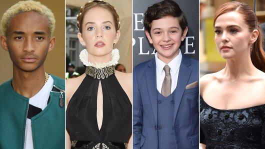 Das sind die Hollywoodkinder und Stars von morgen: Jaden Smith (20), Maya Thurman-Hawke (19) , Noah Jupe (13) und Zoey Deutch (23, v.l.).