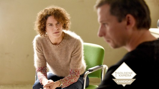 Hanna Rautenberg (Bibiana Beglau) und Peter Petrowski (Till Firit) in einer der letzten Sitzungen: Nach vier Jahren auf der sozialtherapeutischen Station stuft die Psychologin ihren Patienten als kontrolliert, hilfsbereit und rücksichtsvoll ein.