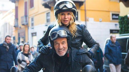 Wie in alten Tagen: Das einstige Traumpaar Ulla (Veronica Ferres) und Jan (Heiner Lauterbach) sind als Biker-Paar auf dem Weg nach Verona, um ihre Teenagertochter Julia zu finden.