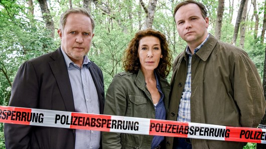 Kommissar Moritz Eisner (Harald Krassnitzer), Bibi Fellner (Adele Neuhauser) und Manfred Schimpf (Thomas Stipsits).