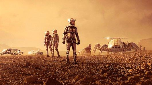So könnte die erste bemannte Crew auf dem Mars aussehen.