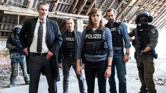 Ubbo Heide (Kai Maertens), Rupert (Barnaby Metschurat), Ann Kathrin Klaasen (Christiane Paul), Frank Weller (Christian Erdmann)