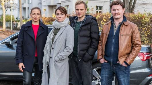 Das Quartett: Annika Blendl (Pia Walther), Anja Kling (Maike Riem), Anton Spieker (Linus Roth), Shenja Lacher (Christoph Hofherr).