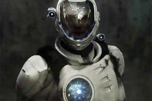 Captain Future in einem Concept-Art der Produktionsfirma Wiedemann & Berg von 2015, realisiert in Zusammenarbeit mit Syrreal Entertainment.