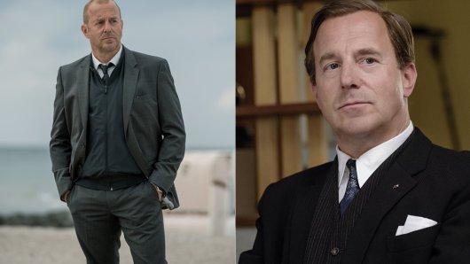 Heino Ferch als Kommissar Kessler im Zweiteiler Die verschwundene Familie und als Nervenarzt Dr. Fassbender in Ku'damm 59.