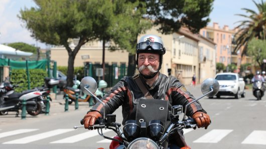 Horst Lichter unterwegs in Südfrankreich.