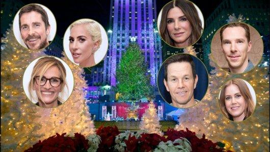 Die großen Hollywoodstars haben unserer Korrespondentin Anke Hofmann verraten, wie sie privat Weihnachten feiern. Lasst euch überraschen.