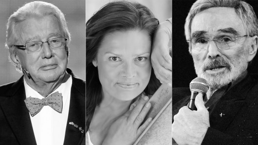 Sie haben uns 2018 für immer verlassen: Dieter Thomas Heck, Stefanie Tücking, Burt Reynolds.