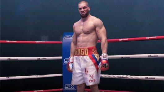 Der gebürtige Bayer Florian Munteanu gibt als Ivan Dragos Filmsohn Viktor in Creed II: Rocky's Legacy sein Schauspiel- und Hollywood-Debüt.