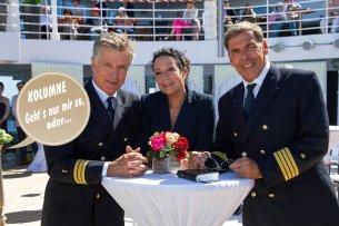 """Nick Wilder und Barbara Wussow gehören weiter zur Besatzung des """"Traumschiffs"""", während für Sascha Hehn ein Nachfolger gesucht wird."""