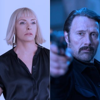 Sie stehen bei Netflix zum Abruf bereit: Chevy Chase in The Last Laugh, Toni Collette  in Die Kunst des toten Mannes, Mads Mikkelsen in Polar.
