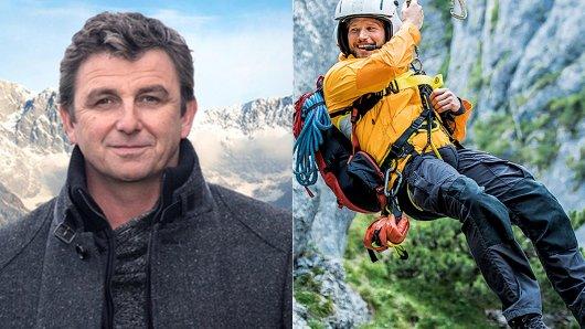 Drehen sie bald gemeinsam? Hans Sigl (49) und Sebastian Ströbel (42).