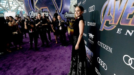 Natalie Portman bei der Weltpremiere von Avengers: Endgame in Los Angeles (2019).
