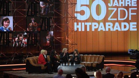 Die Show 50 Jahre Hitparade wurde am 12. April in Offenburg aufgezeichnet.