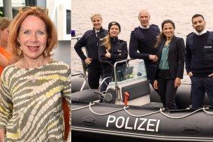 """Drehstart für neue Krimiserie im Ersten: Seit Mai 2019 laufen die Dreharbeiten für acht Folgen der neuen Vorabendserie """"Wapo Berlin""""."""