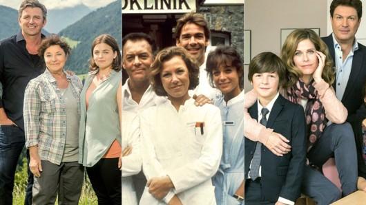 Die berühmtesten TV-Familien Deutschlands.