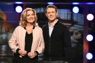 Bettina Tietjen (59) und Alexander Bommes (43).