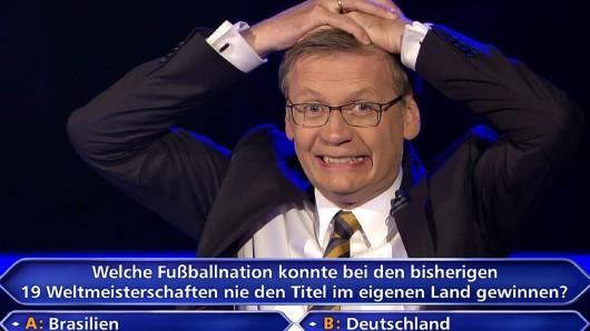 Seit 20 Jahren WWM-Moderator: Günther Jauch (63)