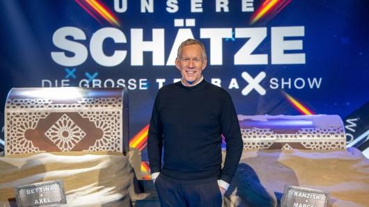 Die große Terra X-Show wird präsentiert von Johannes B. Kerner.