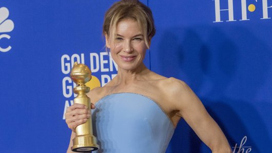 Renée Zellweger (50) erhölt bereits ihren vierten Golden Globe.