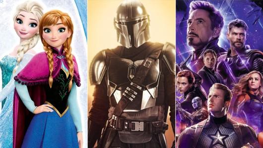 Disney-Filme oder The Avengers unnd neue Serien wie The Mandalorian sind die Highlights bei Disney+