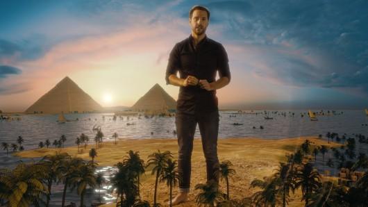 Mirko Drotschmann präsentiert unter anderem das alte Ägypten.