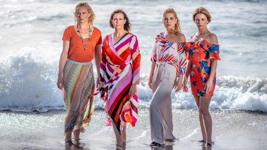 V.l.: Maren (Eva Mona Rodekirchen), Katrin (Ulrike Frank), Nina (Maria Wedig), Yvonne (Gisa Zach)