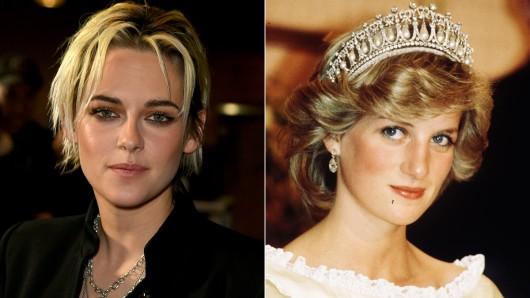 Kristen Stewart (l) wird im Biopic Spencer Prinzessin Diana spielen.