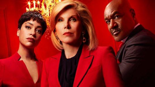 Wer ist in The Good Fight- Staffel 4 der Boss? Lucca (Cush Jumbo), Diane (Christine Baranski, M.) und Adrian (Delroy Lindo).